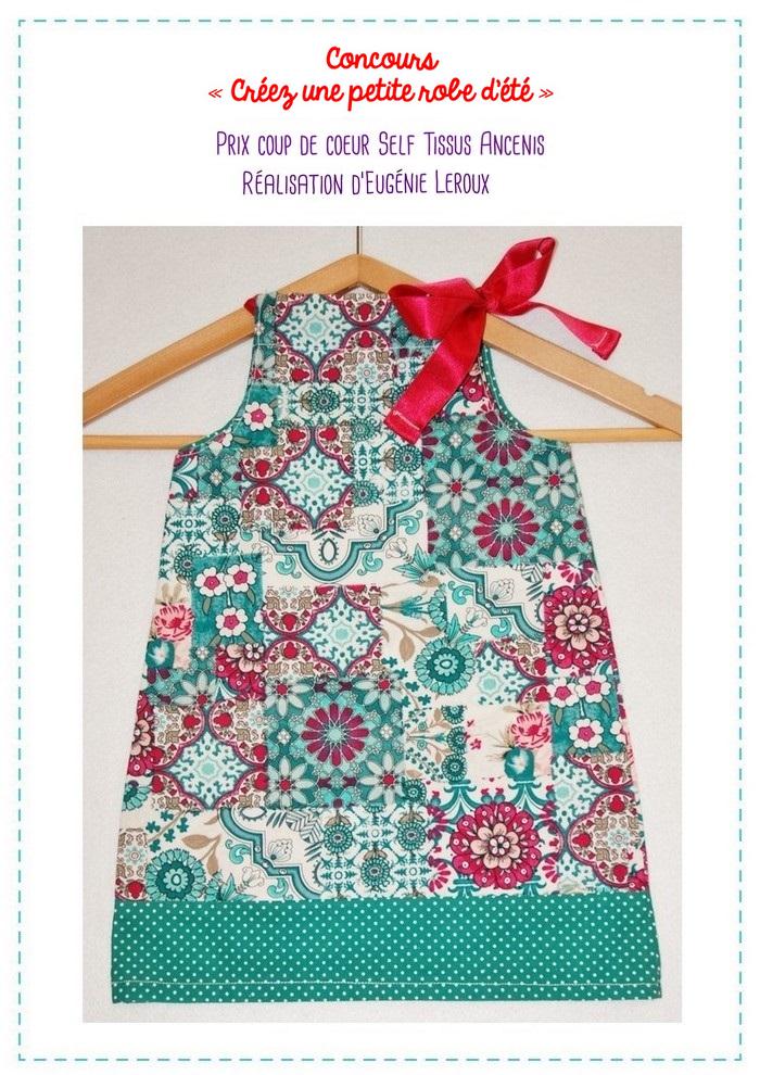 concours robe d'été mention spéciale Ancenis 2