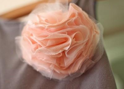 broche en tissu