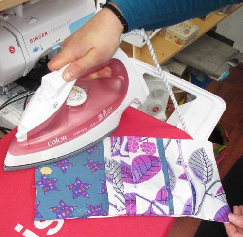 repasser si tissu coton ou toile