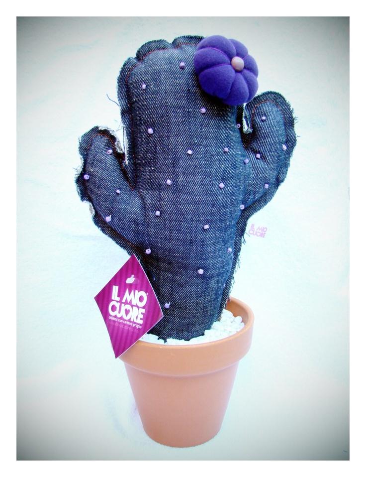 Cactus en tissu.