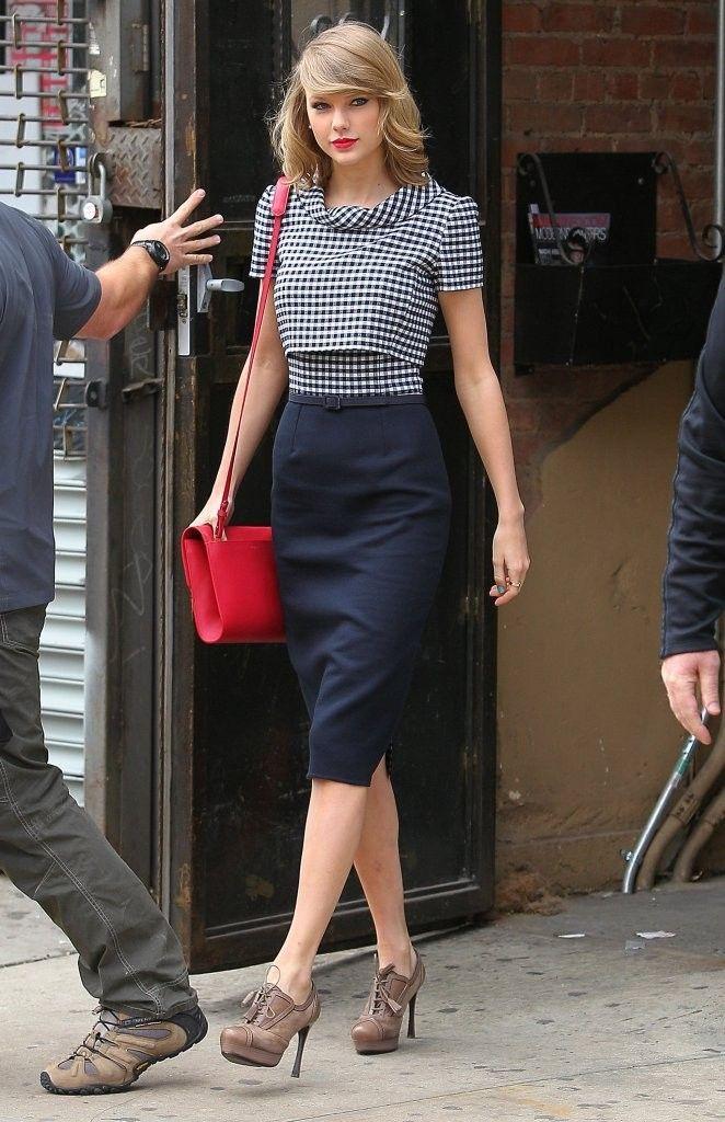 Taylor Swift en Oscar de la Renta