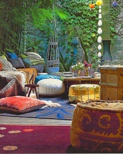 Atrium Home Design Ideas Pictures Remodel And Decor: La Décoration D'intérieur De Style Bohème