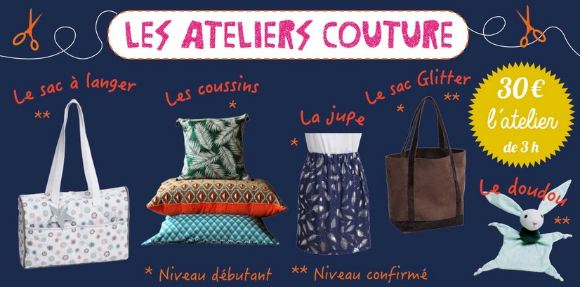 Ateliers couture self tissus