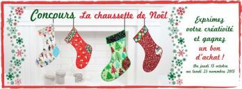 concours chaussette noel