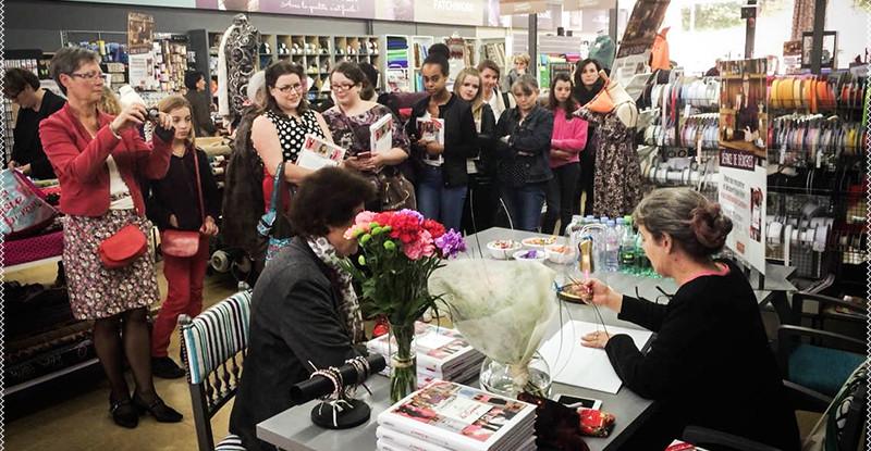 Les fans étaient au rendez-vous pour rencontrer Carmen