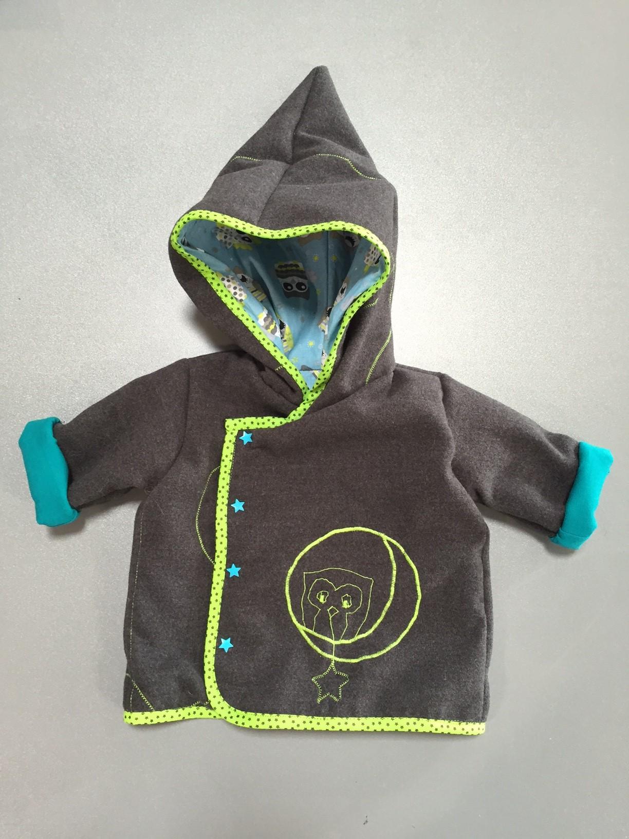 veste lutin pour bébé