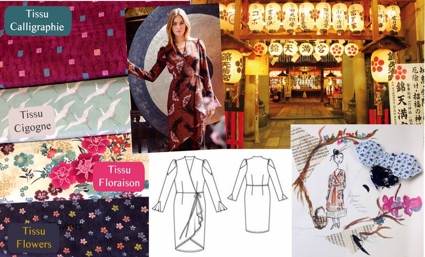 inspiration japon couture