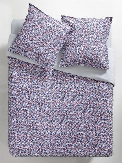 Linge de lit tissu fleuri