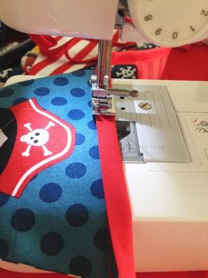 Réaliser un fanion en tissu