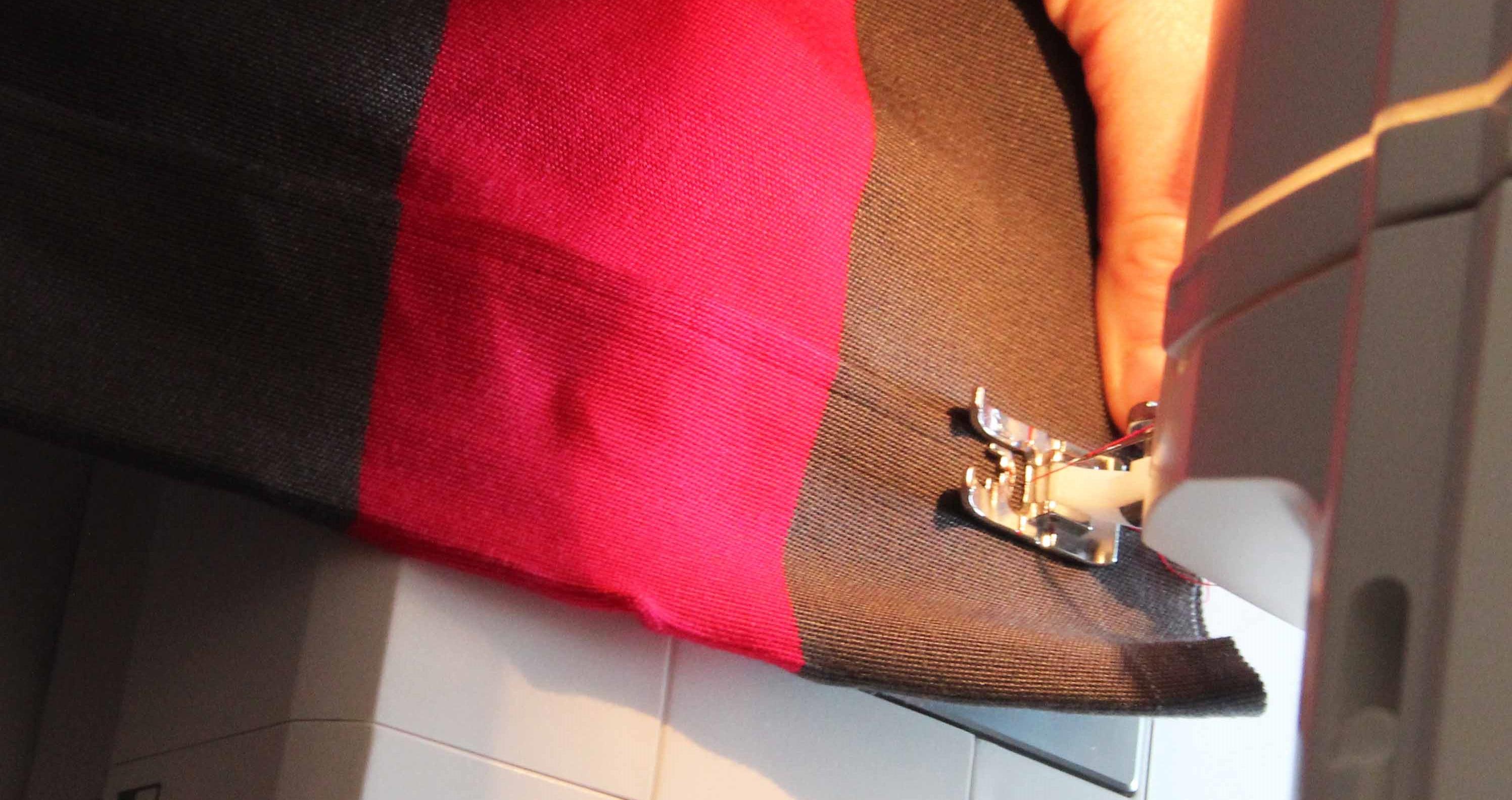 couture toile transat