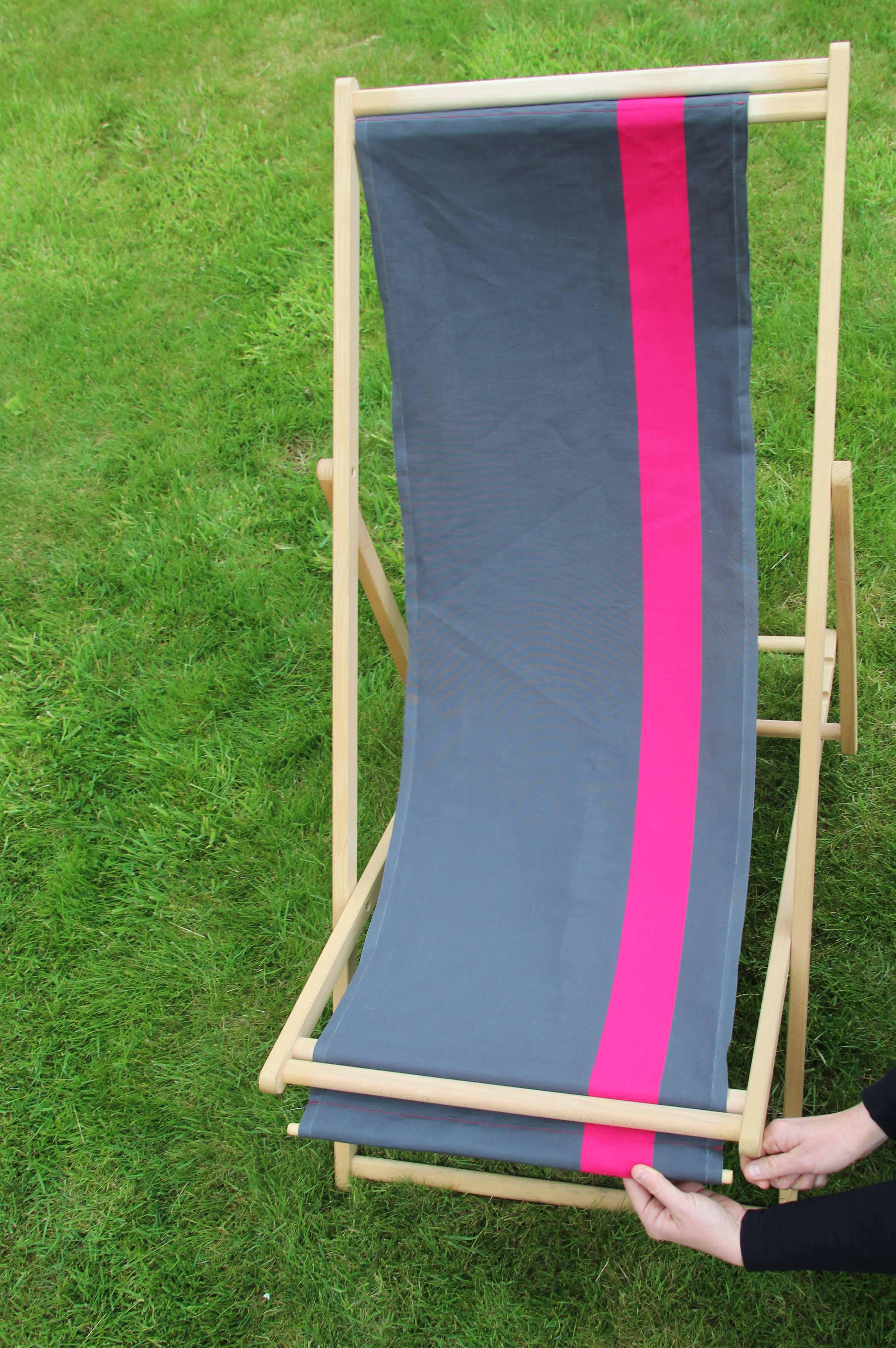 Comment Restaurer Une Chaise En Bois restaurer une chilienne en toile transat - je fais moi-même