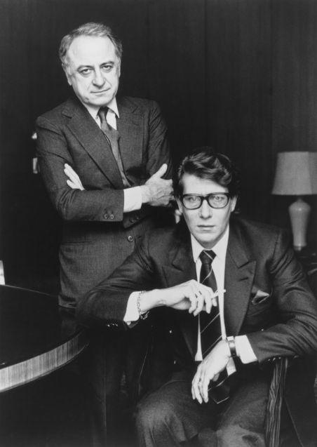 Pierre Bergé & YSL