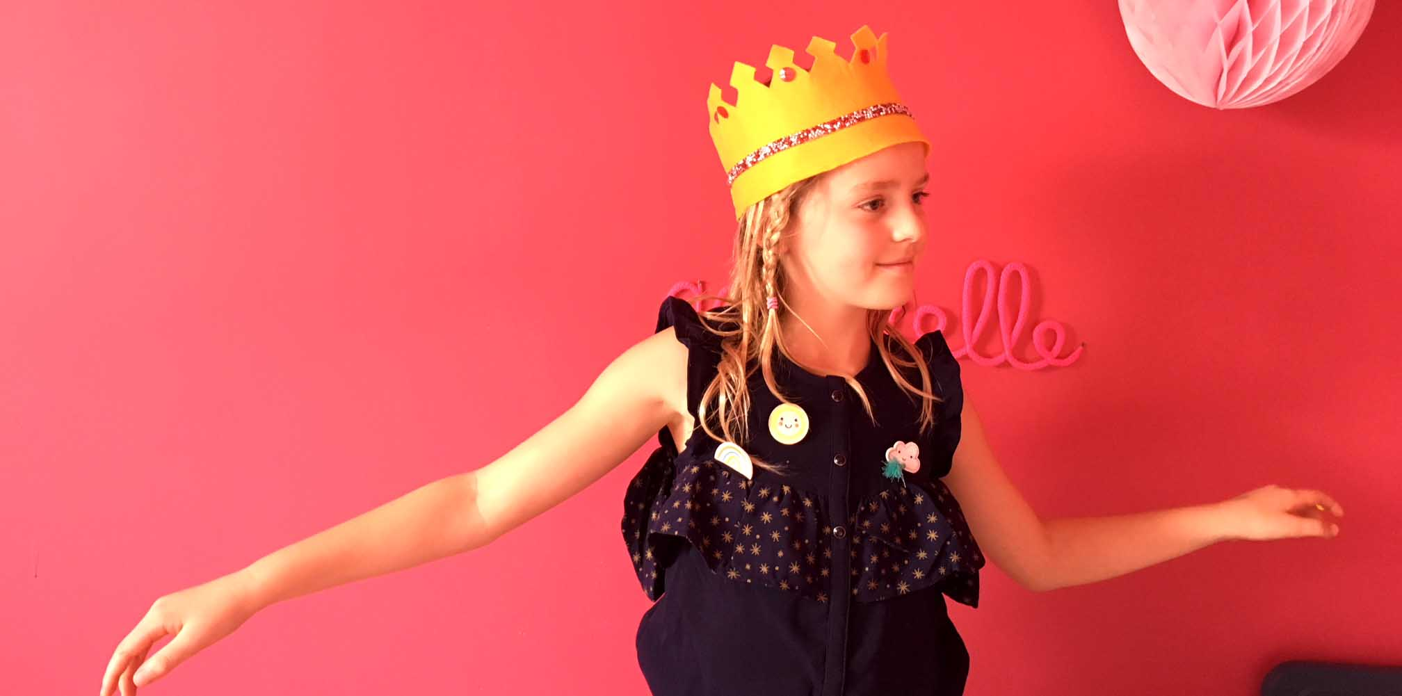 couronne des rois en feutrine
