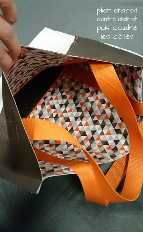 couture adalena sac cabas fnds et fermeture
