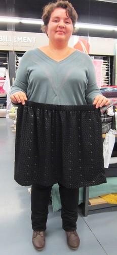 atelier couture jupe élastiquée