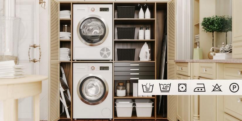 buanderie et code de lavage