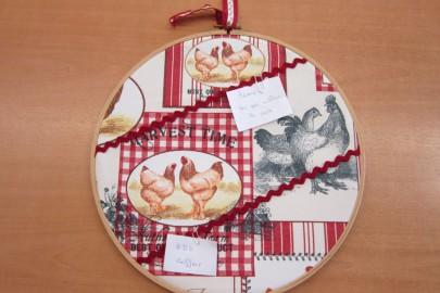 cadre décoratif en tissus 004