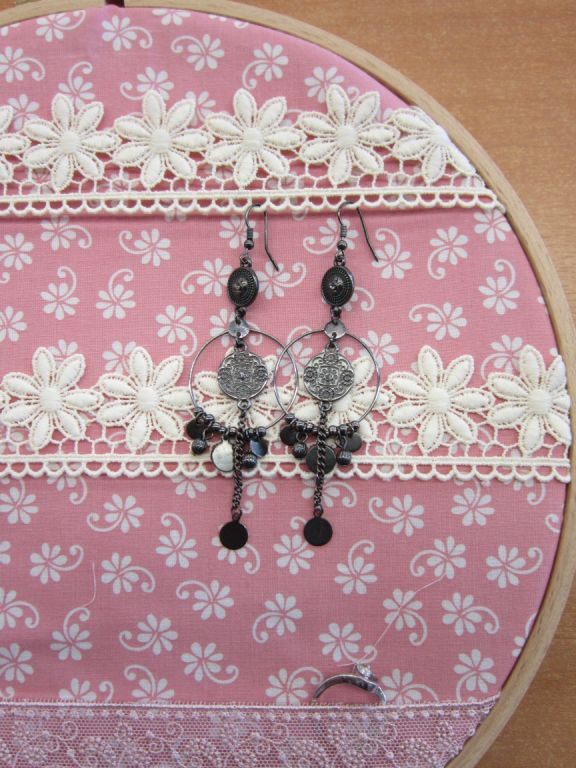 cadre décoratif en tissus 002