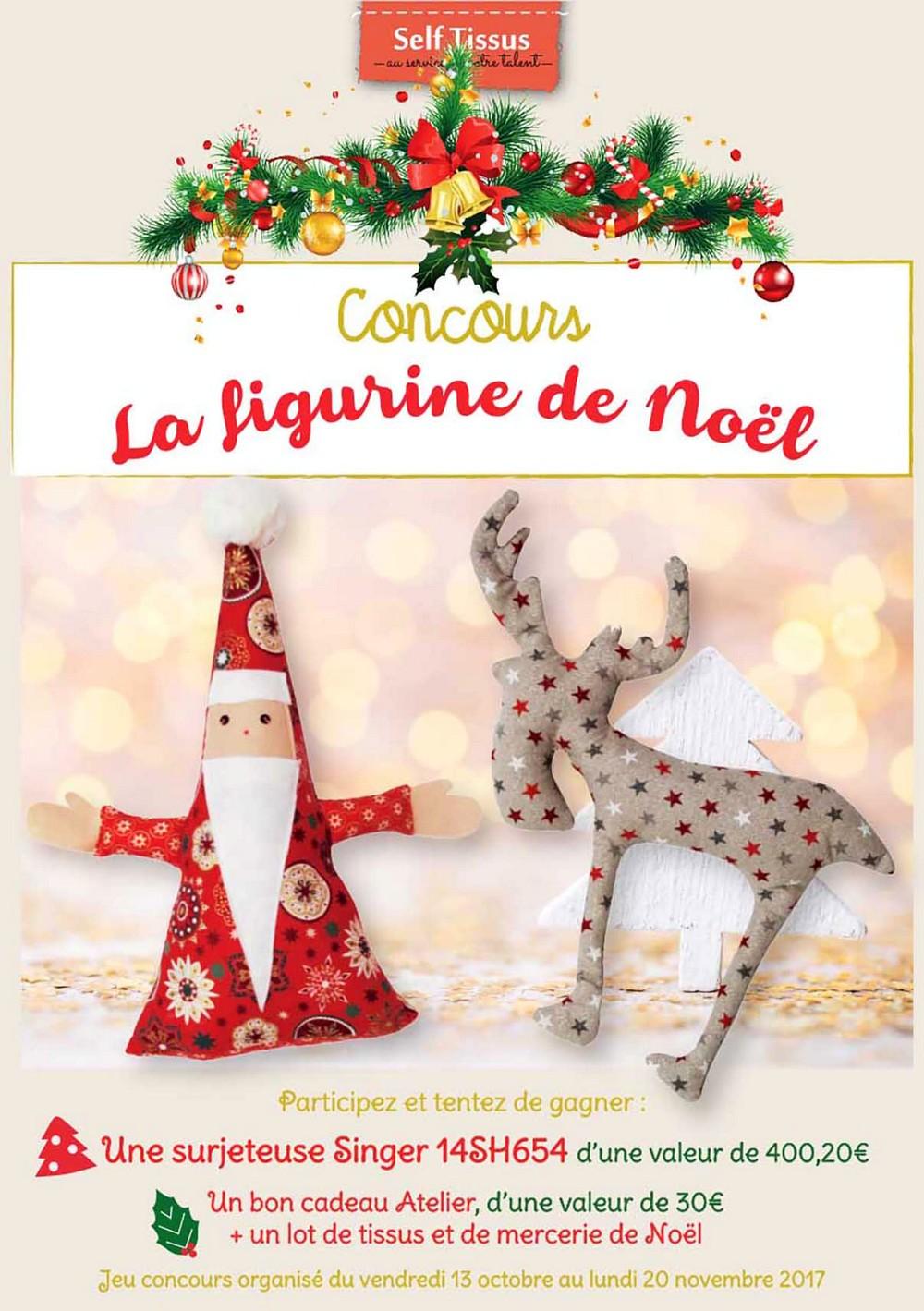concours figurine de noel