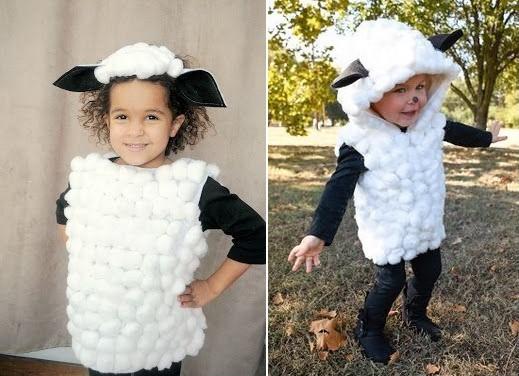 costume de mouton