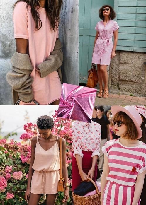 couleur tendances rose
