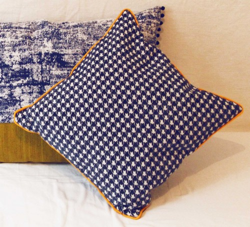 coussin a passepoil