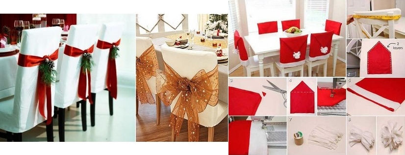 Decoration Chaise Noel