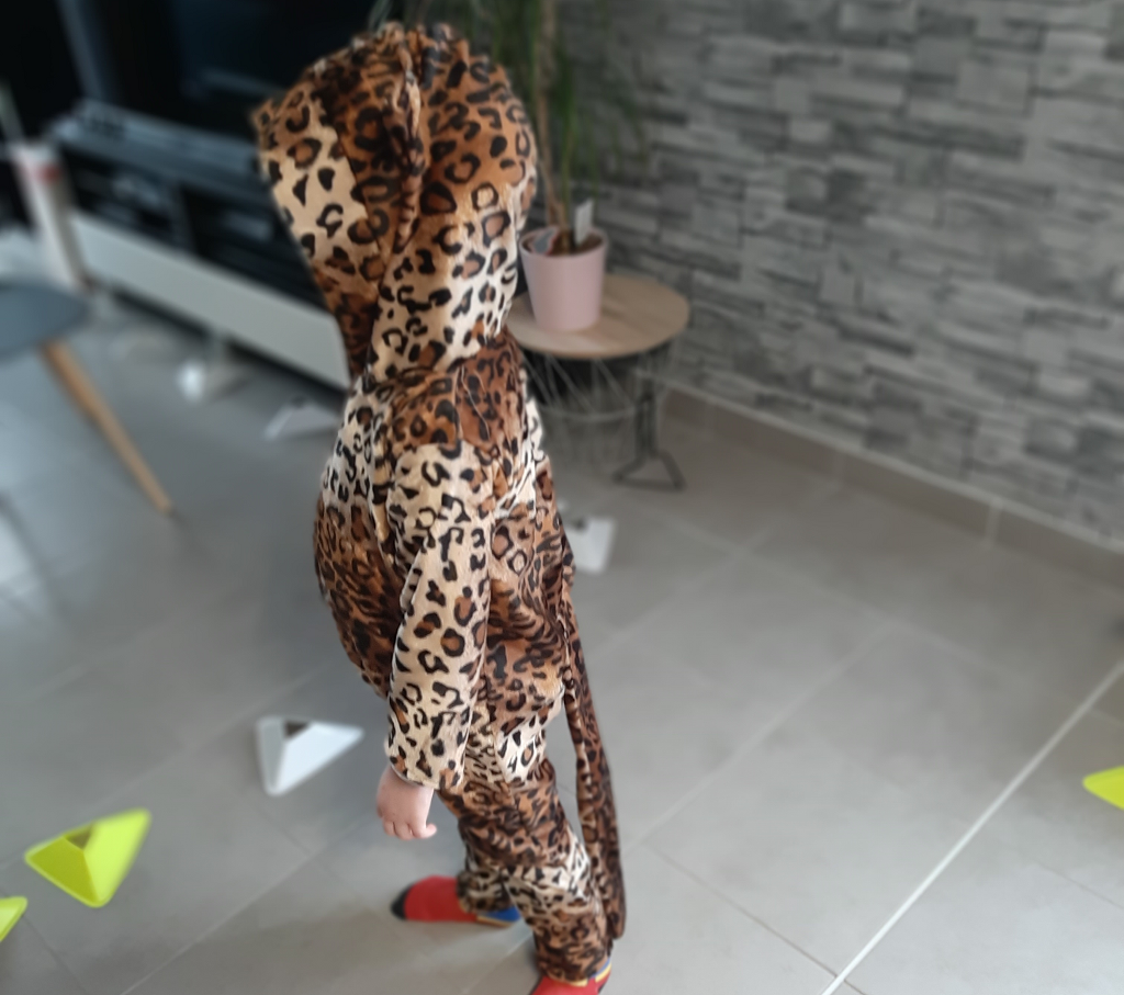 deguisement de leopard
