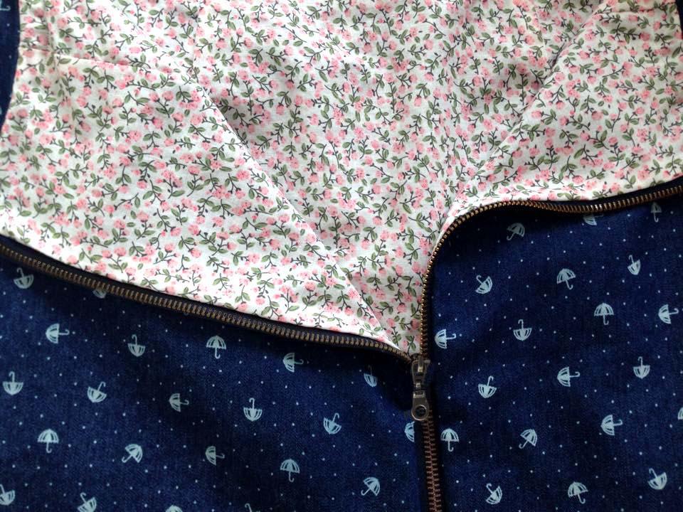 tissu coton semi-fleur