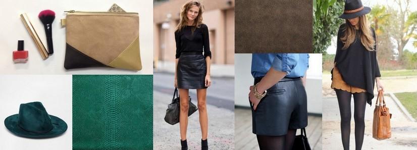 mode-jupe-et-short-simili-cuir