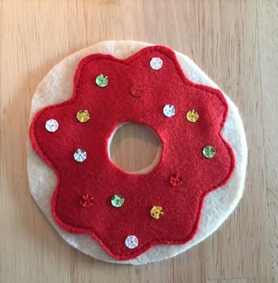 nappage donuts en tissu