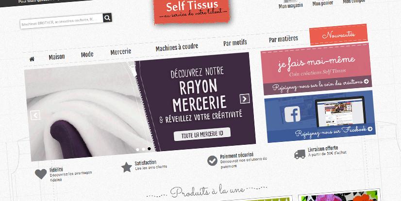 Découvrez notre nouveau site selftissus.fr