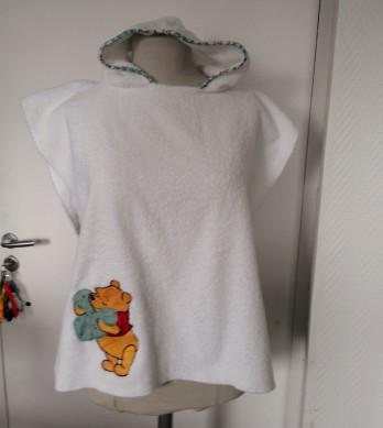 poncho éponge pour bébé