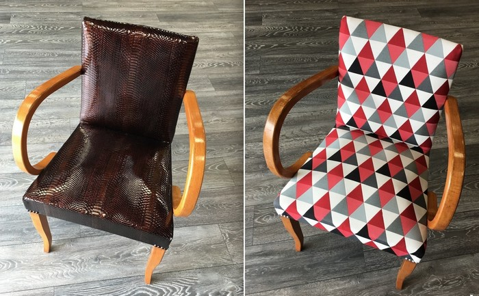 restauration de fauteuil bridge