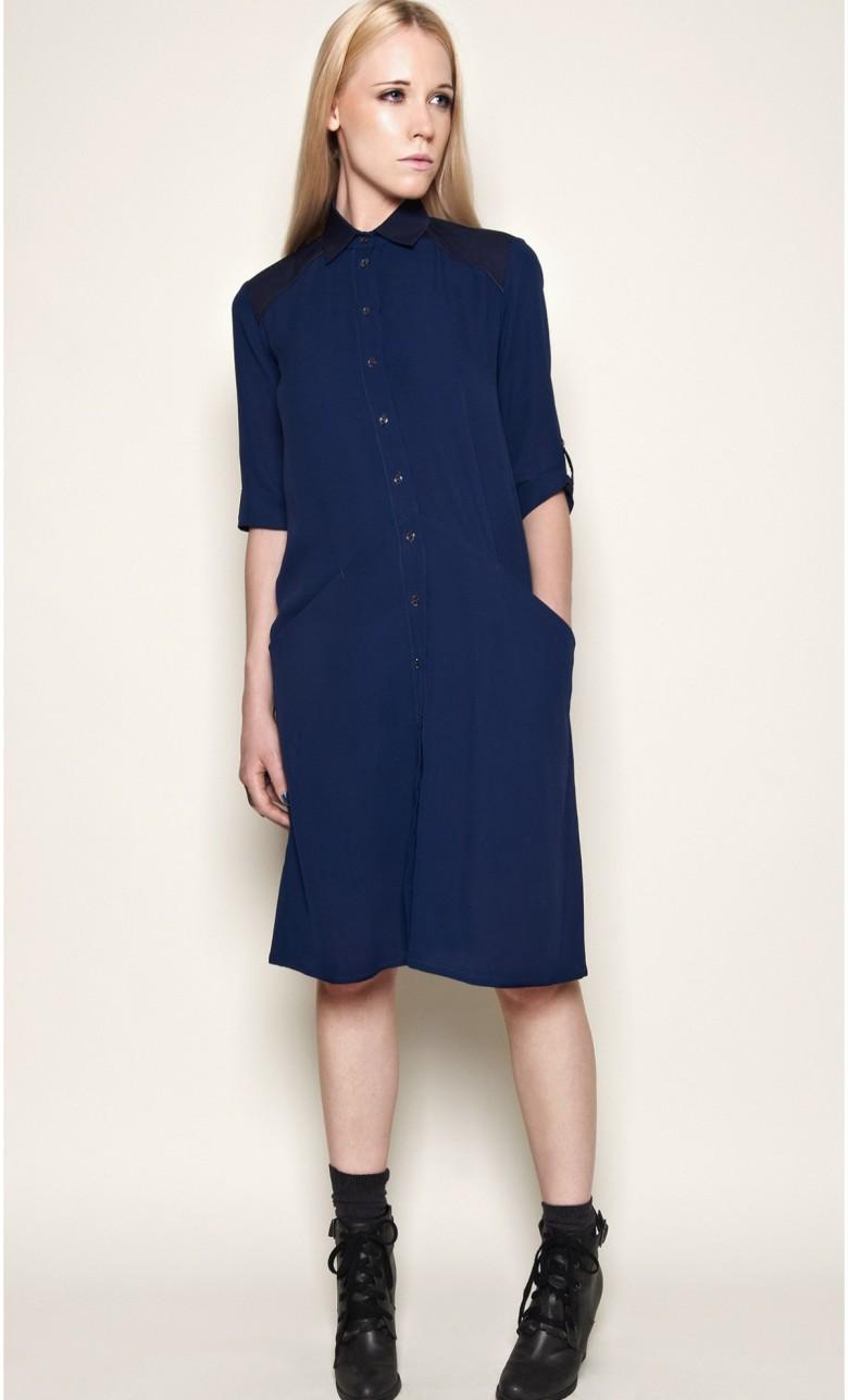 robe-chemise-mi-longue-soie