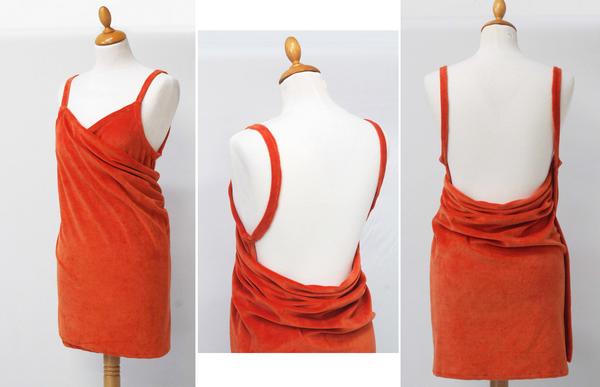 robe de plage paréo en éponge
