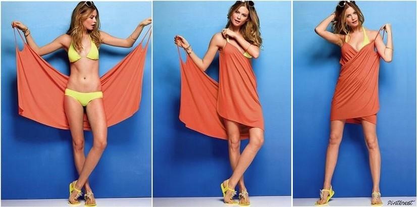 Платье для пляжа своими руками фото 903