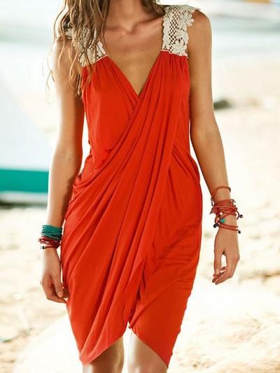 robe paréo dentelle