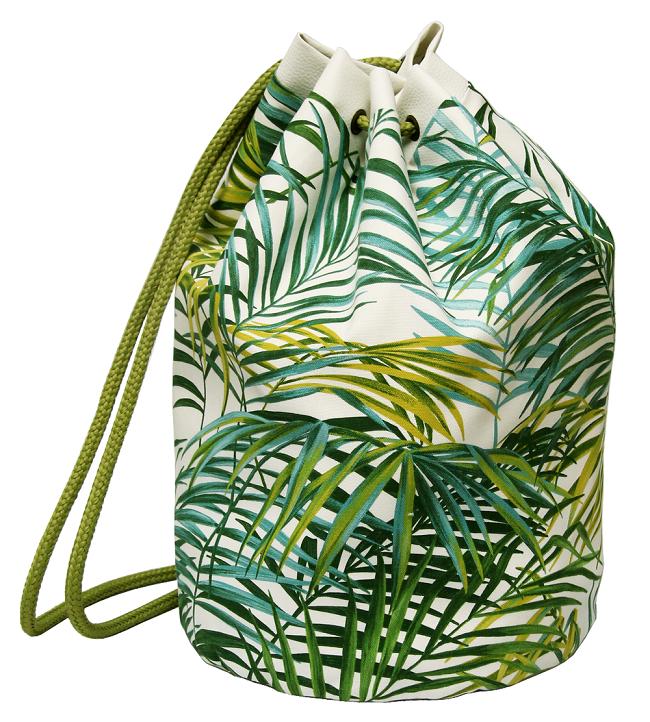 sac de plage palmier