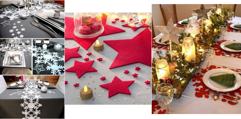 Decoration de table a faire soi meme - Decor de table de noel a faire soi meme ...