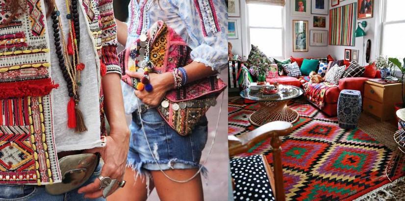 tendance boh me d co et mode je fais moi m me. Black Bedroom Furniture Sets. Home Design Ideas