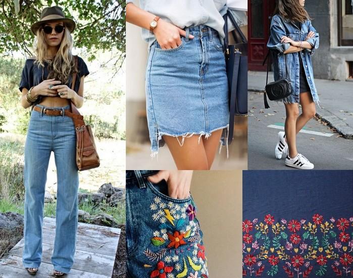 tendances jeans