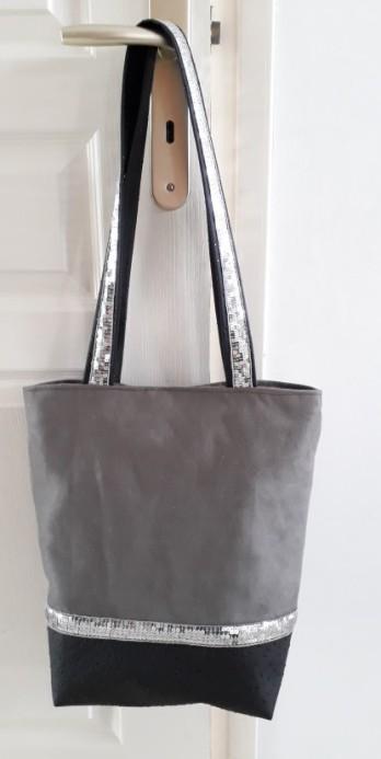 tuto bag en suédine