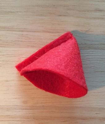 tuto fraise en tissu