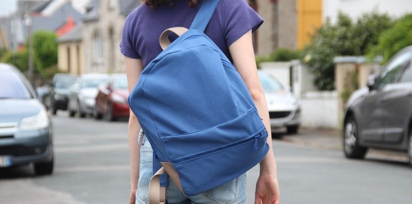 48d057495b Tuto sac à dos pour la rentrée