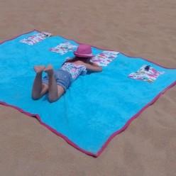 tuto serviette de plage familiale