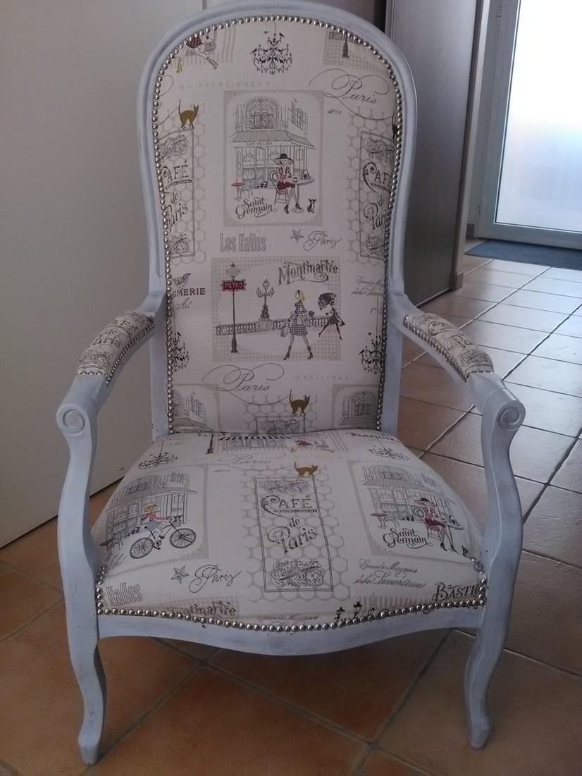 Relooker Un Fauteuil Voltaire relooking d'un fauteuil voltaire - je fais moi-même